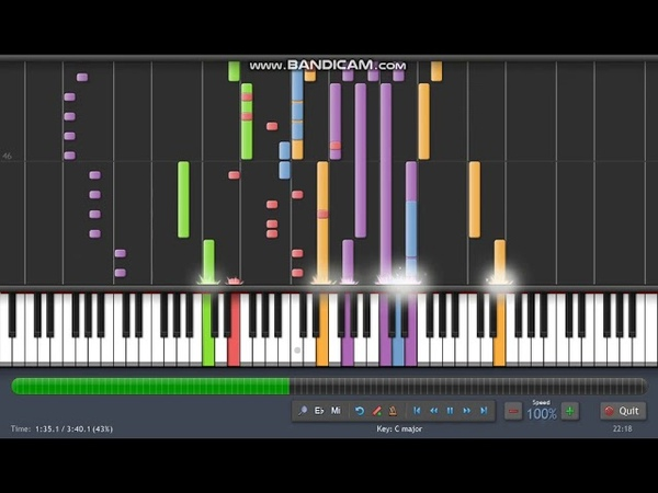 Savage - only you Synthesia