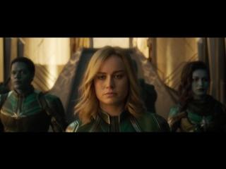 Капитан Марвел - тизер-трейлер на русском  (Captain Marvel 16+ 2018)