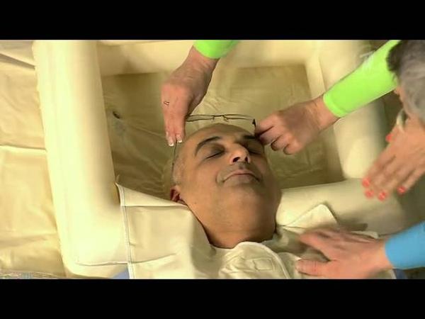 Как помыть голову пожилому человеку. Мобильный душ