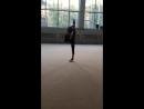 Николь Красюк - Кольцо с помощью на тренировках
