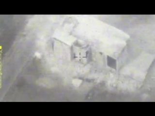 Russian MoD releases footage of strikes on militant targets in Idlib