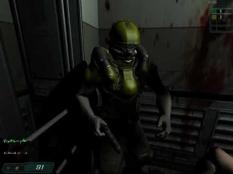 Doom III 1 - КОНСТАНТ УКРАЛ ПУШКИ И ВЫКЛЮЧИЛ СВЕТ