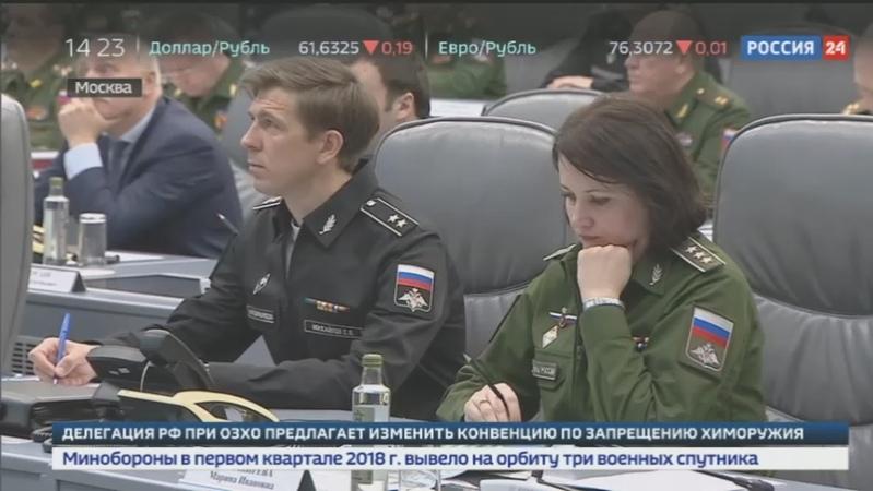 Новости на Россия 24 • Вклад предприятий ОПК в 2018 году в войска отправлены 23 боевые машины и 50 самолетов и вертолетов