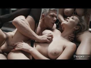 Lena Paul, Gabbie Carter - She Was Me      Gonzo Hardcore All Sex Threesomes Porn Porno Порно