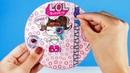 Бумажный сюрприз ЛОЛ DECODER . Распаковка бумажного шара куклы лол