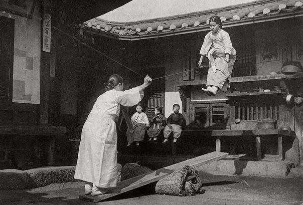 Корейские качели (1900-е годы)