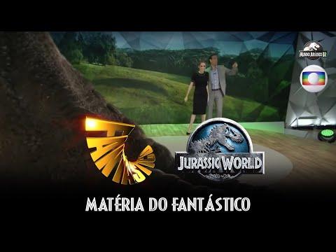 Jurassic World: O Mundo dos Dinossauros - Matéria do Fantástico (Globo) (HD)