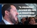 Matteo Salvini veut que Macron cesse de l'insulter
