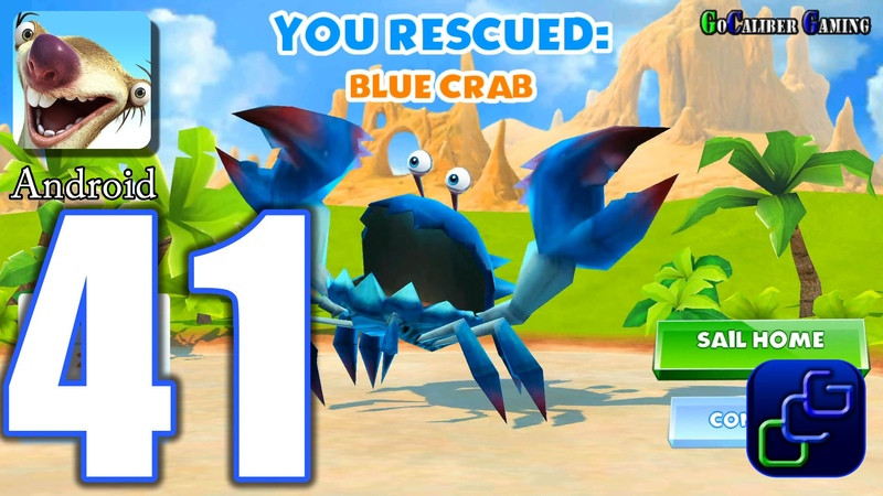 ICE AGE Adventures Android Walkthrough - Part 41 - Buenos Windy: Blue Crab