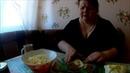 Диетический салат из капусты с зеленым горошком.Болталка.№3