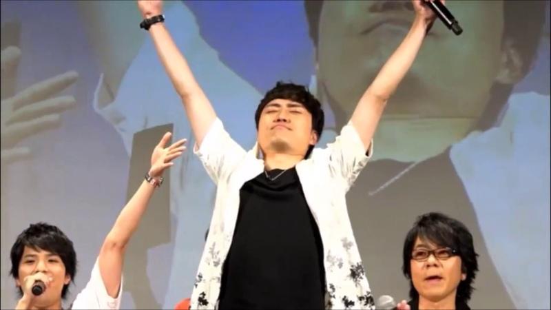 アンセムREMIXで生ラップを披露する野津山幸宏 男性声優