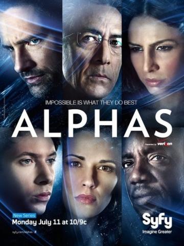 Люди Альфа (сериал 2011 – 2012) Alphas смотреть онлайн