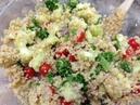 Полезный рецепт салата Табуле с киноа Quinoa Tabouli Salad HASfit Healthy Quinoa Recipes Quinoa Tabouli Recipe Quinoa Recipe