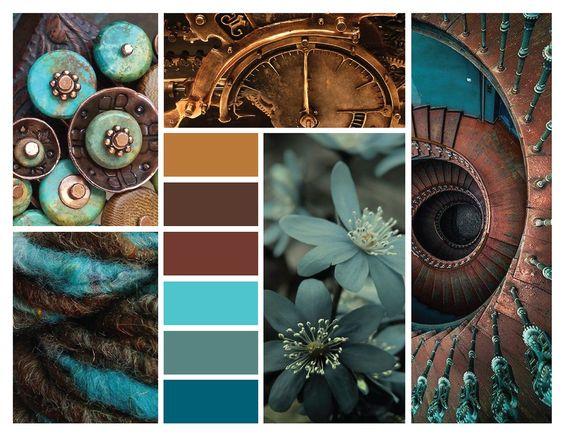 Цветовые палитры, цвет в деталях.