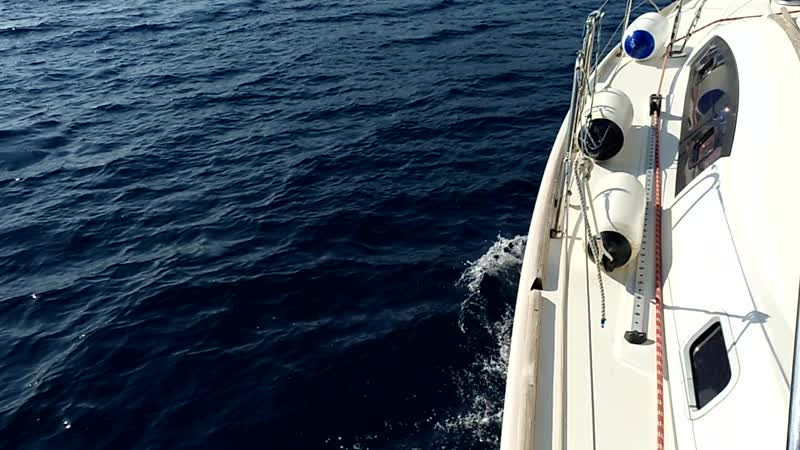 05. Под парусами, вход в Бока-Которский залив
