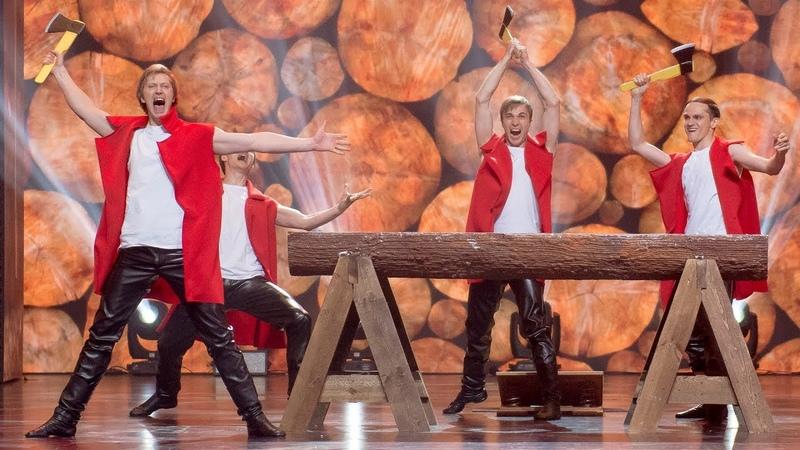 Танц группа гос омского русского нар хора Лига удивительных людей Суперфинал