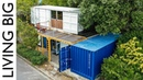 Boat Builder's Incredible 20ft Shipping Container Home - Revisited || Living Big In A Tiny House
