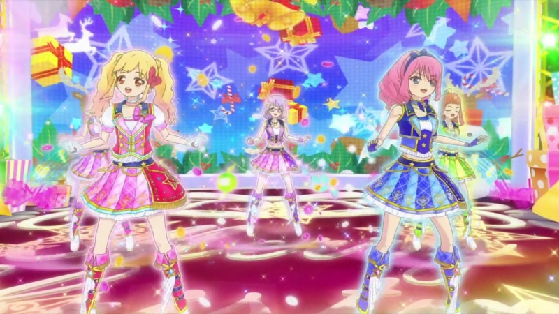 Aikatsu stars [We wish you a merry Christmas] (episode 87)
