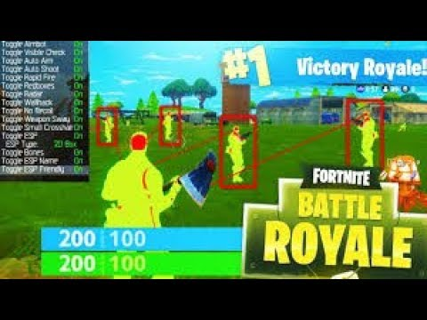 Fortnite HACKING with AIMBOT LIVE! (Aimbot ESP)