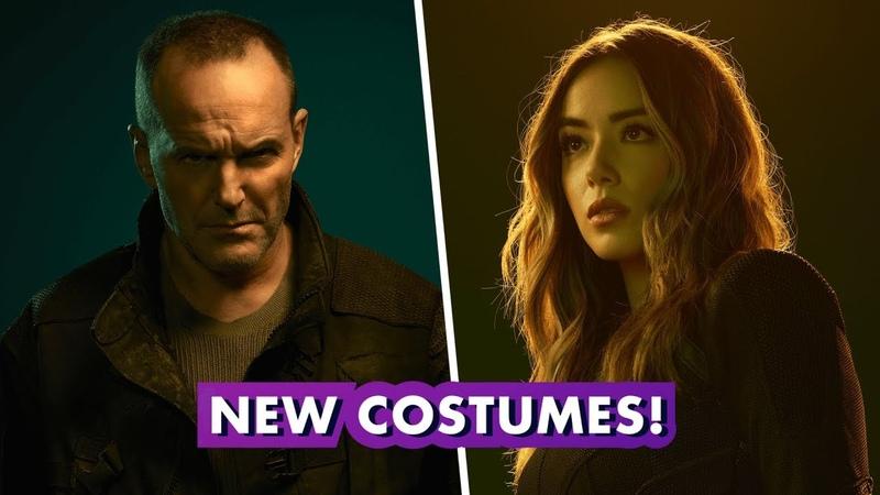 Marvels Agents of S.H.I.E.L.D. | Behind Sarge Quakes New Costumes