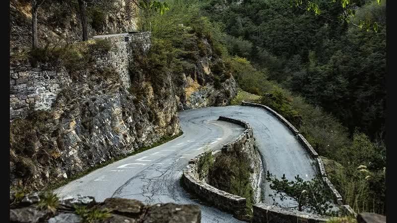 Горный перевал Коль де Тюрени