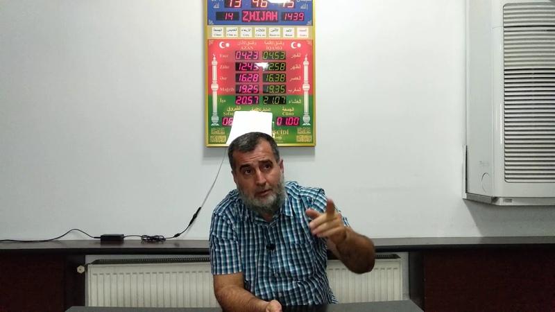 Гамет Сулейманов - Ответы на вопросы. 25.08.2018
