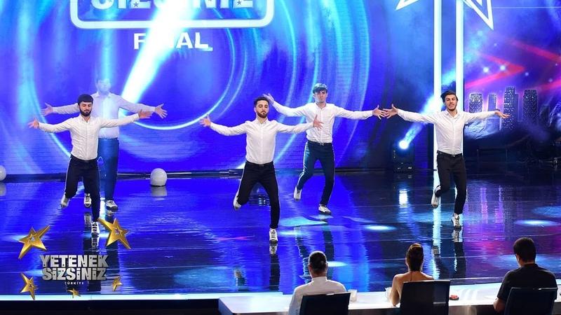 Gasanov Dans Grup final performansı | Yetenek Sizsiniz Türkiye
