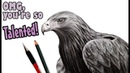 Do you NEED talent to be an artist Rant eagle drawing
