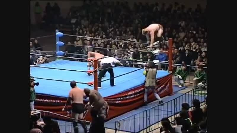 1996.11.29 - Giant Kimala IIJun Izumida vs. Stan HansenTakao Omori [FINISH]