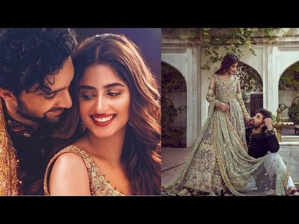 Sajal Aly Ahad Raza Mir Getting Married Soon | Sajal Ahad Very Beautiful Bridal Groom Shoot