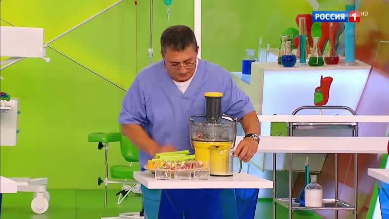 Полезны ли свежевыжатые соки Доктор Мясников