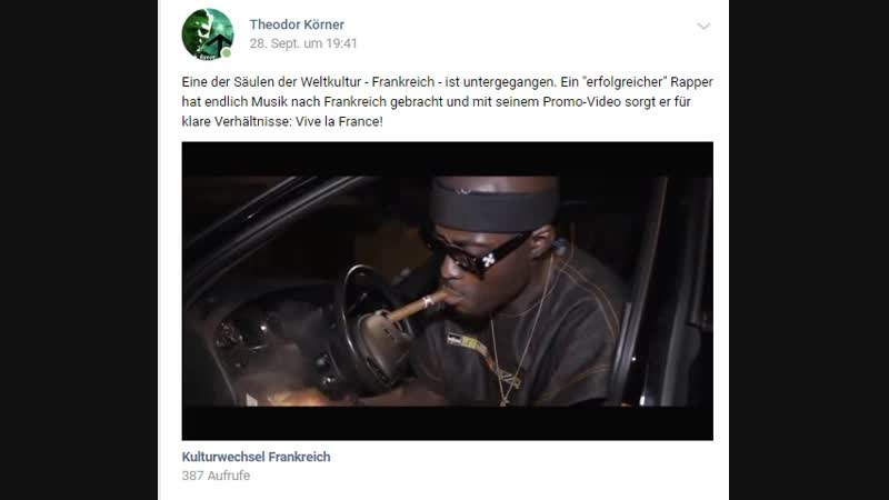 Nigger Rapper Frankreich ist am Ende