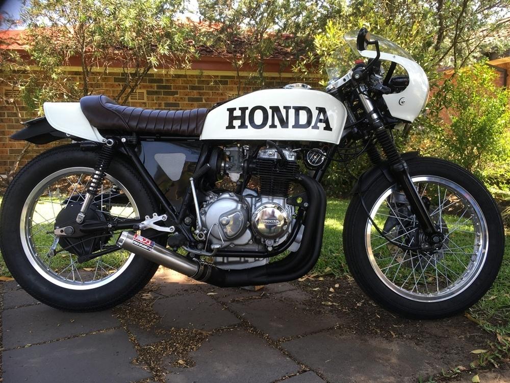 Кафе рейсер Honda CB400F White Lightning