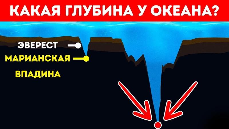 Насколько на Самом Деле Глубокий Океан