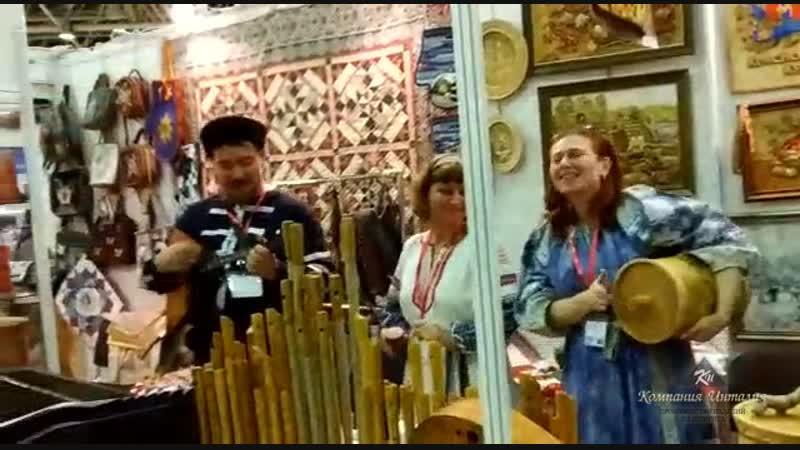 Шунгит, shungite, Компания Инталияна выставке в Москве.