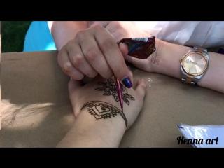 Henna art   mehndi on hand   мехенди на руке