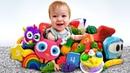 Coleção. Bianca e DaDa brinquedos. Brinquedos educativos para crianças.