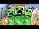 НЯША КРИПЕР - Майнкрафт Клип Minecraft Parody Song of PSYs Daddy