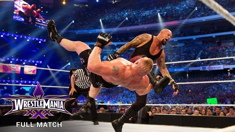 FULL MATCH - The Undertaker vs. Brock Lesnar: WrestleMania 30 (WWE Network Exclusive)