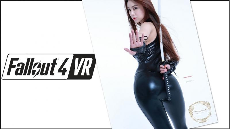 Зимнее выживание в Fallout VR Fallout 4 Horizon mod смотрим разные моды в VR на Oculus Rift CV1 live stream, chat