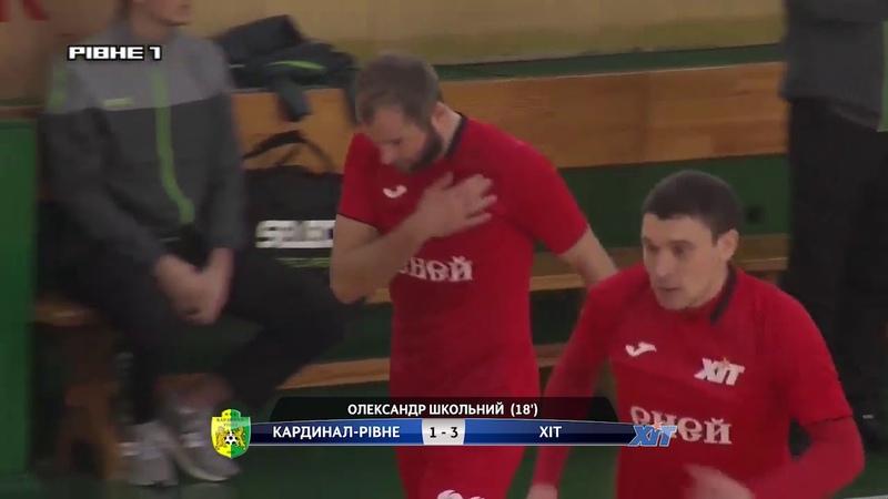Highlights   Кардинал-Рівне 2-3 ХІТ   18 Фіналу Кубок України 20182019
