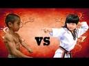 Bruce Lee Jr VS Lin Qiunan Letales Maestros de las Artes Marciales a su Corta Edad