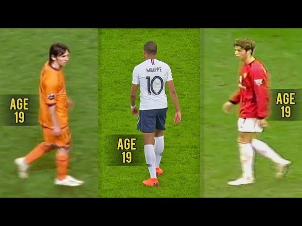 Mbappé is Good but... Messi Ronaldo were Monsters at 19!