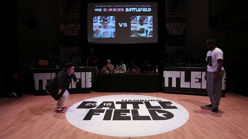 Battlefield 2018 | Popping quarter final | Jay Badu vs Breakz