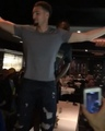 Warriors Talk on Instagram Draymond and Klay were dancing on top of tables last night.
