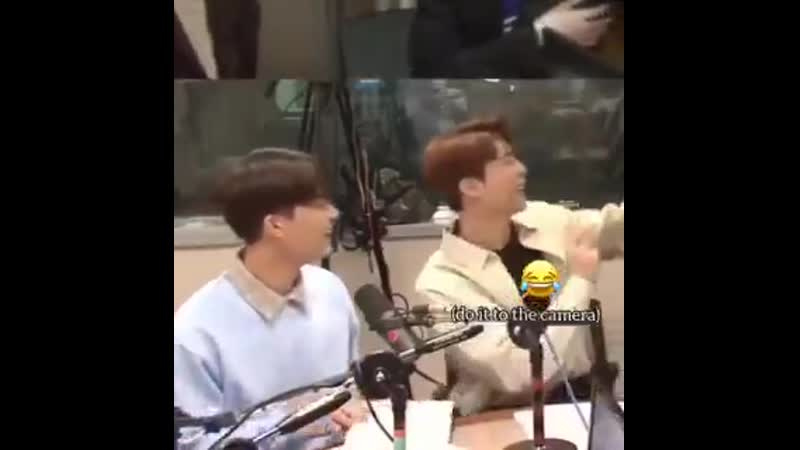 180409 a year ago today taeil suddenly had to do an impromptu heart event on live radio