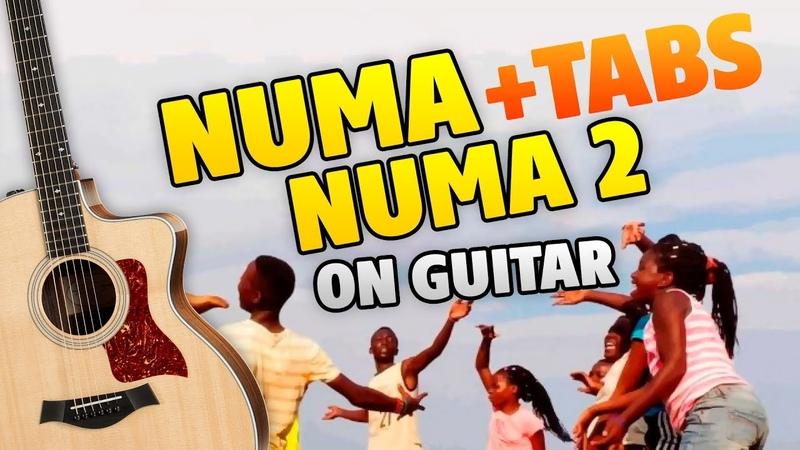 Dan Balan – Numa Numa 2 (fingerstyle guitar cover with tabs and karaoke)