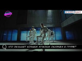 (Рус.саб) CROSS GENE | Интервью во время продвижения песни I'm Not a Boy Not Yet a Man (2014)