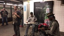 Subway Performer Mike Yung Sings to Baby If You Don't Know Me By Now 23rd Street Viral Sensation
