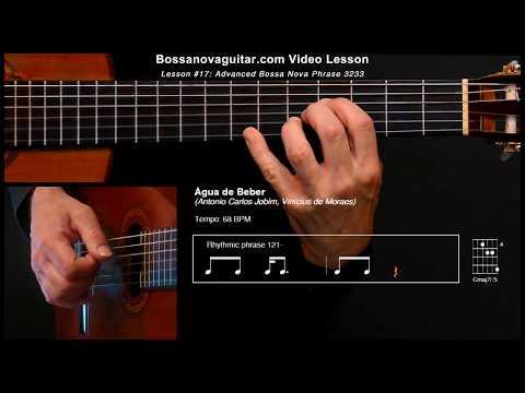 Água de Beber (Water to Drink) - Bossa Nova Guitar Lesson 17: Advanced Phrase 3233